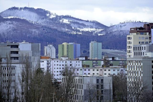 Winterlicher Schönbergblick