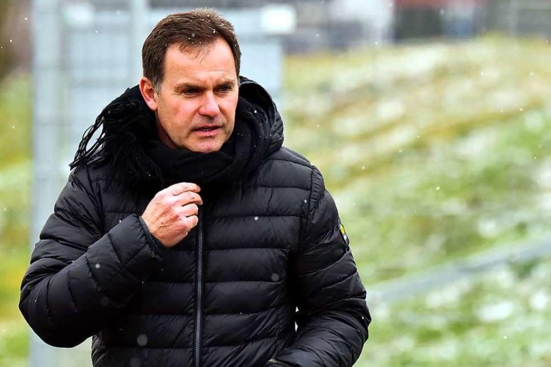 Der Teninger Vereinschef Thomas Hodel ... nicht nachhaltig beeinträchtigt wird.  | Foto: Daniel Thoma