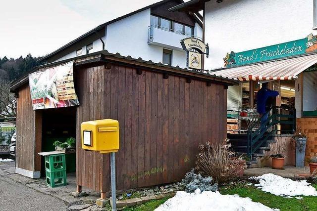 Bands Frischeladen in Freiburg-Kappel schließt Ende Juni