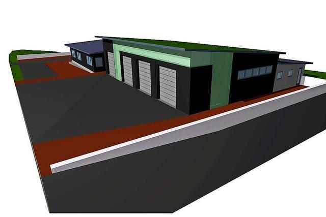 Schliengener Rat segnet den Plan für das Feuerwehrgerätehaus Nieder- und Obereggenen ab