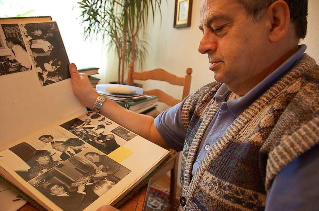 Albenweise hatte Salvatore Scimone sei...mmelt, die bei Burda ein- und ausging.  | Foto: Ralf Burgmaier