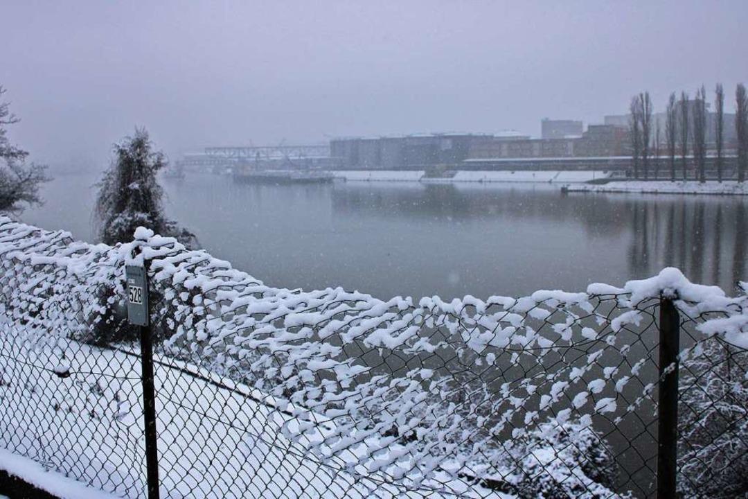 Im Winter fließt weniger Wasser aus den Alpen den Rhein hinab.  | Foto: Rolf Reißmann