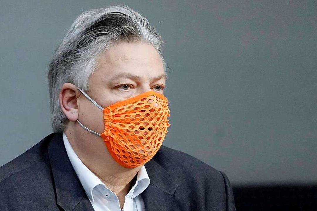 Beklagt fehlendes Wissen im Umgang mit... Seitz bei einer Sitzung  im Bundestag  | Foto: via www.imago-images.de