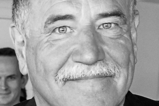 Trauer in Müllheim nach überraschendem Tod von Ernst Ranft