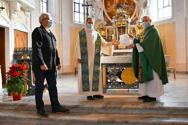 Pfarrer Andreas Brüstle ist Ansprechpartner für 11.500 katholische Christen