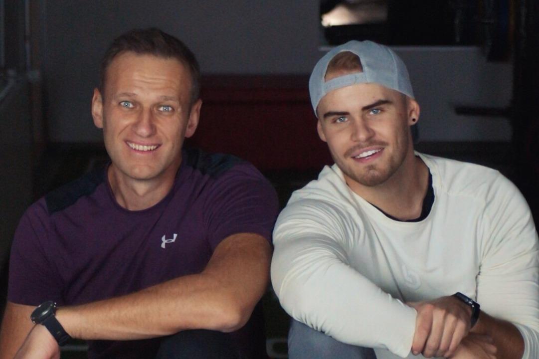 Alexej Nawalny (links) und Björn Leber  | Foto: BZ