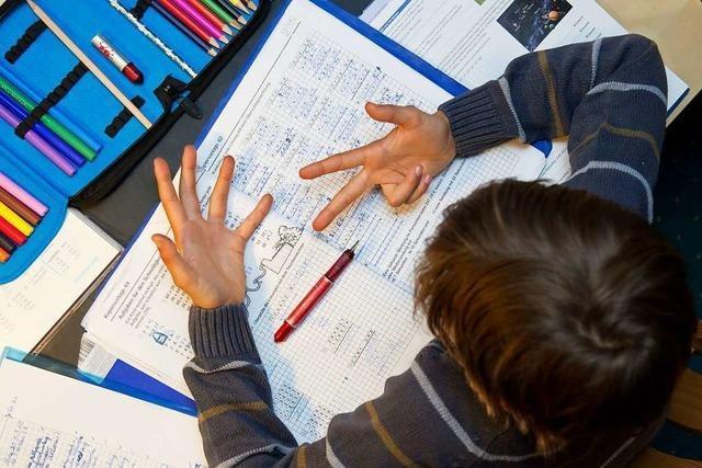 Von Rechenschwäche betroffene Kinde kriegen an Mathias-von-Neuenburg Schule Therapie