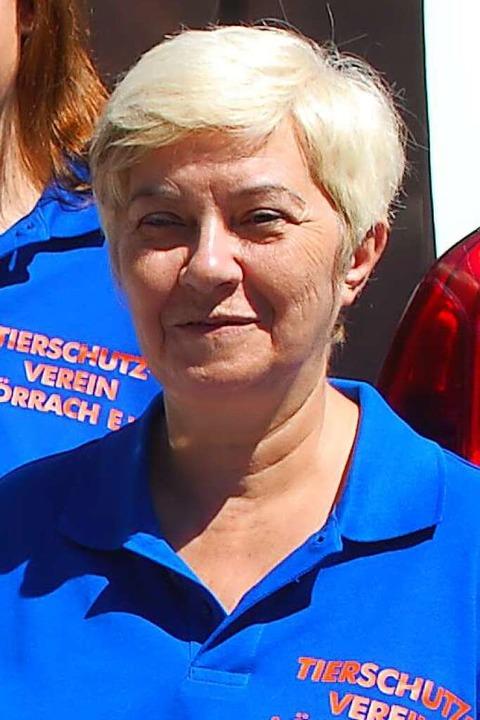 Renate Mittner ist seit 2019 Vorsitzende des Tierschutzvereins.    Foto: Thomas Loisl Mink
