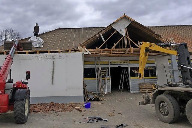 Edeka-Markt in Grafenhausen wird abgerissen
