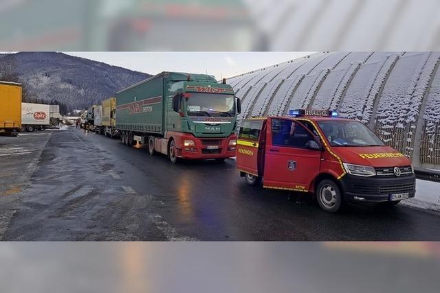 Spedition startet Lkw für Kroatienhilfe