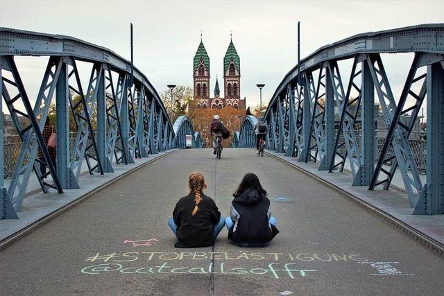 #Chalkback: Mit Straßenkreide gegen sexuelle Belästigung