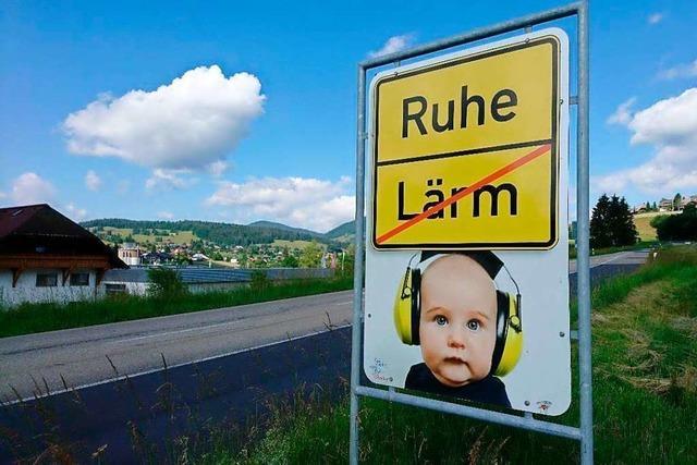 Schopfheim fordert resolut mehr Lärmschutz ein
