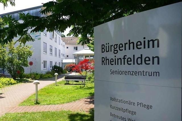 Insgesamt 11 Todesfälle wegen Corona im Bürgerheim Rheinfelden