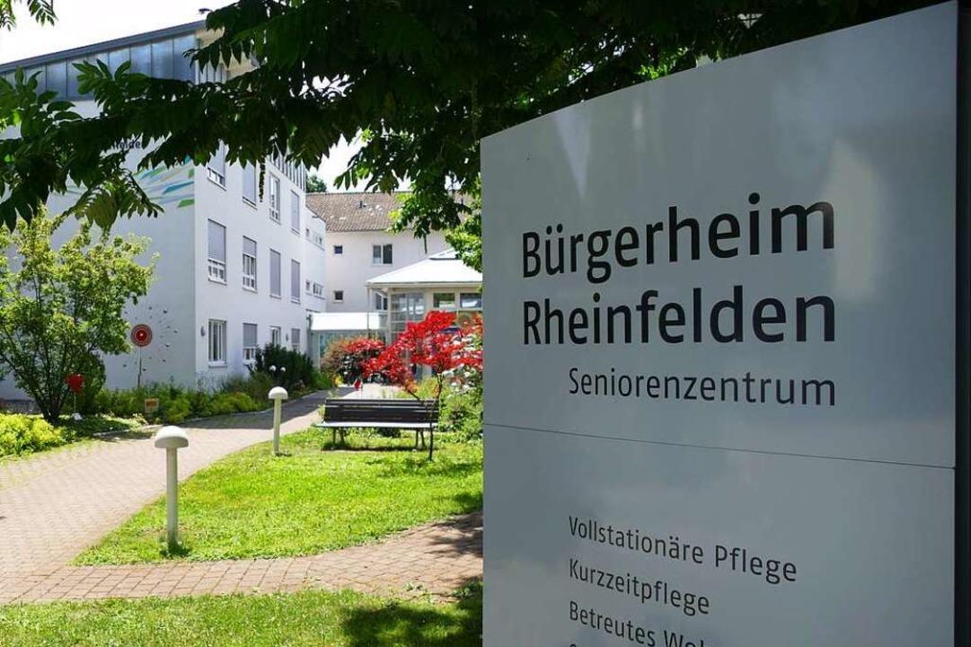 Das Bürgerheim in Rheinfelden  | Foto: Elena Borchers