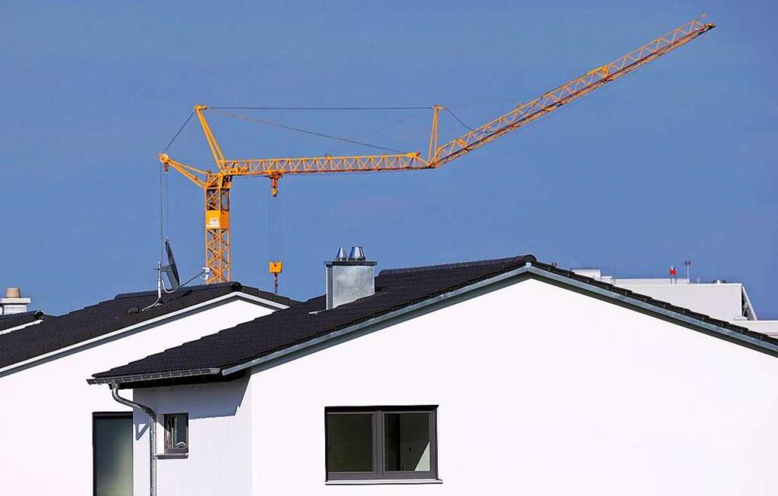 Mit Bebauungsplänen nach  13b können K...e kleiner als 10000 Quadratmeter sind.  | Foto: Karl-Josef Hildenbrand (dpa)