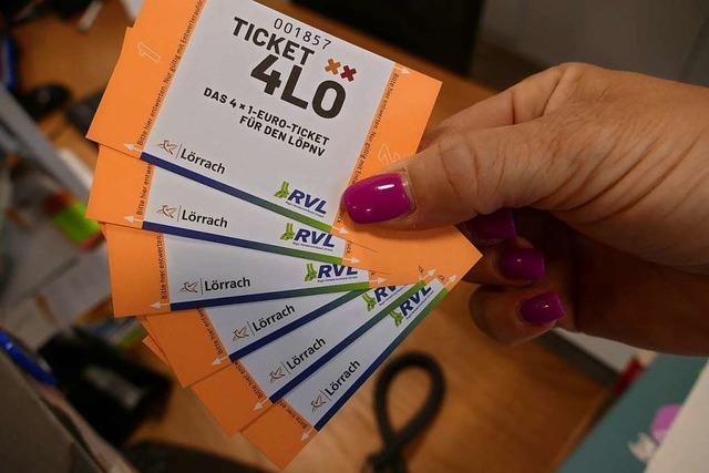 Lörracher Spardebatte: Auch über das Ein-Euro-Ticket wird diskutiert