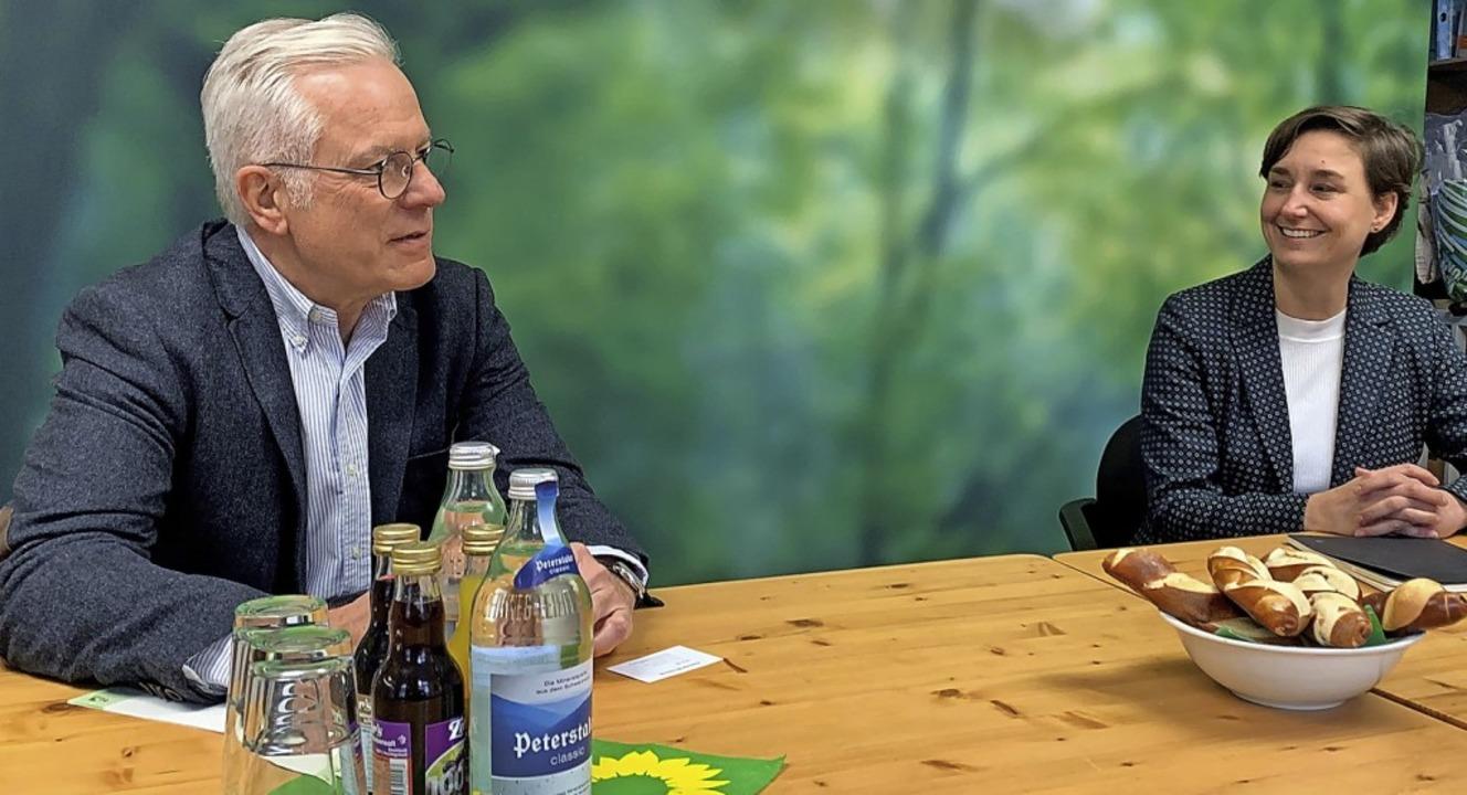 Thomas Zawalski tritt im Wahlkreis Off...ünen an, Sandra Detzer in Ludwigsburg.  | Foto: Norbert Hense