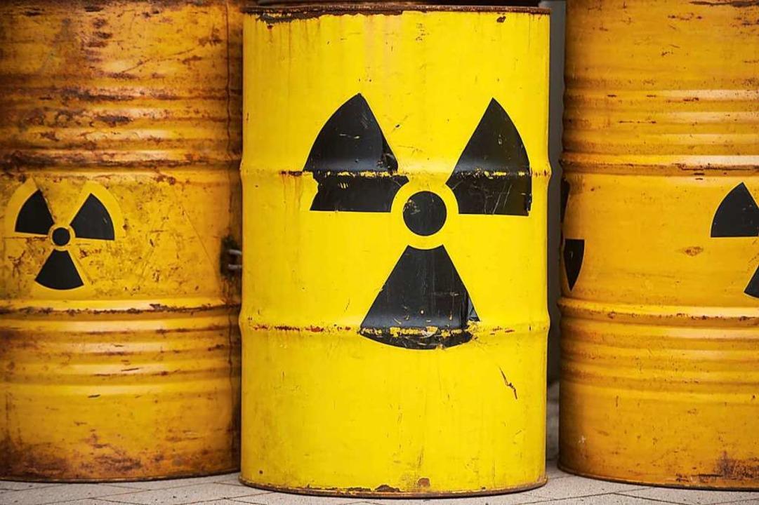 Wohin mit dem Atommüll?    Foto: Sebastian Kahnert (dpa)