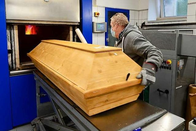 Das Freiburger Krematorium gerät durch die Pandemie nicht an die Belastungsgrenze
