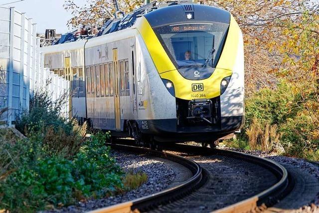 Breisgau-S-Bahn: Schmieranlagen sollen Kurvenlärm ab Juni mindern