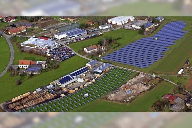Solarpark in Hänner wird zweieinhalb Hektar groß