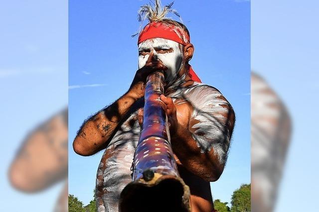 Proteste bei Australiens Nationalfeiertag
