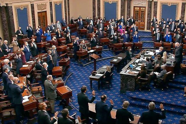 Große Mehrheit der Republikaner im Senat gegen Trump-Impeachment