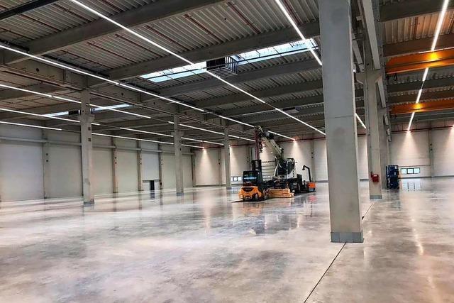 SLG Kunststoff zieht ab April in neue Fabrik am Bugginger Kreisel