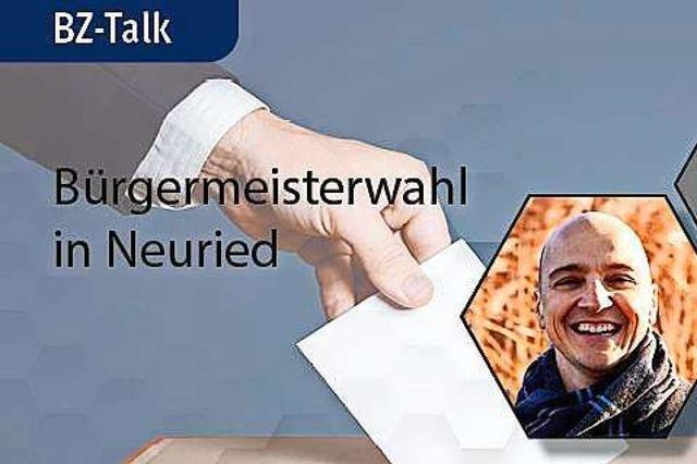 BZ-Talk zur Bürgermeisterwahl in Neuried