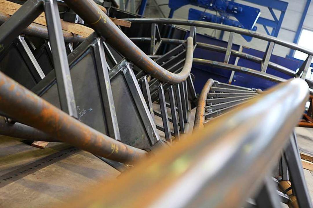 Mack Rides ist stolz darauf, die Schie...lle Fahrgeschäfte selbst herzustellen.  | Foto: Mack Rides