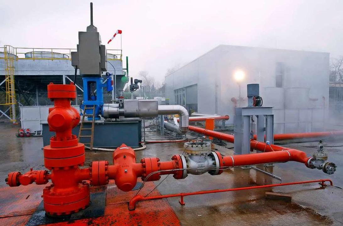 In zahlreichen Gemeinden gibt es bereits Erdwärmekraftwerke.    Foto: Ronald Wittek