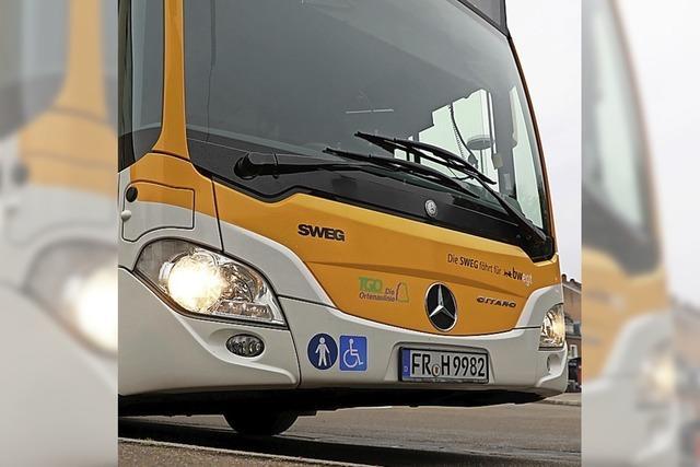 Größerer Bus wird eingesetzt