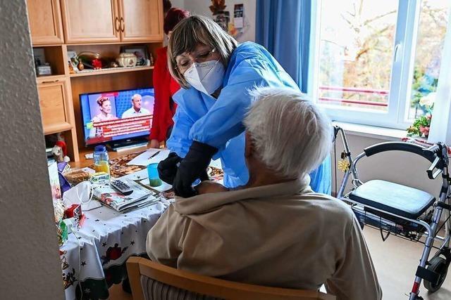 Mobile Impfteams dürfen in Efringen-Kirchen nur in Pflegeheime