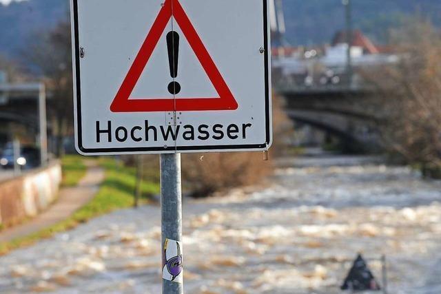 Hochwasser an Flüssen im Südwesten erwartet