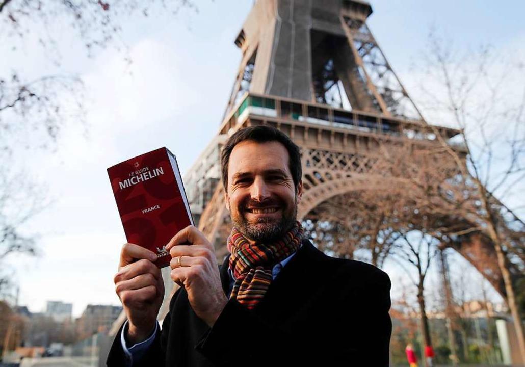 """Gwendal Poullennec, Chef des """"Gu...r dem Eiffelturm  die 2021er-Ausgabe.     Foto: Francois Mori"""