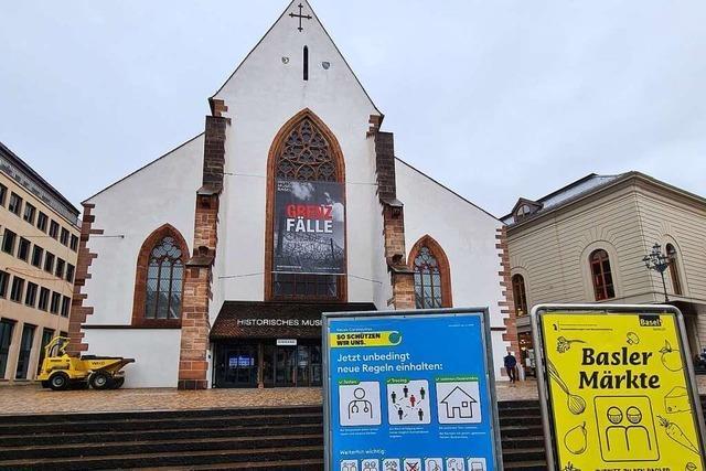 Basler Museen fordern ein Ende des Lockdowns