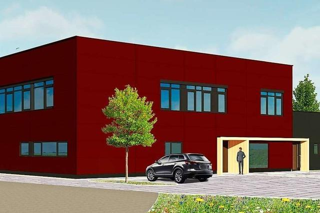 Das neue Rettungszentrum in Ettenheim erzeugt mehr Strom als es braucht