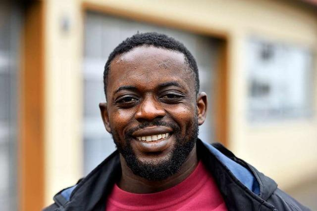 Wie ein Flüchtling aus Kamerun ins Rollladengeschäft nach Freiburg kam
