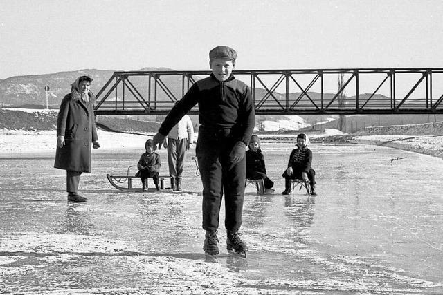 Fotos: So sah der Emmendinger Winter vor 50 Jahren aus