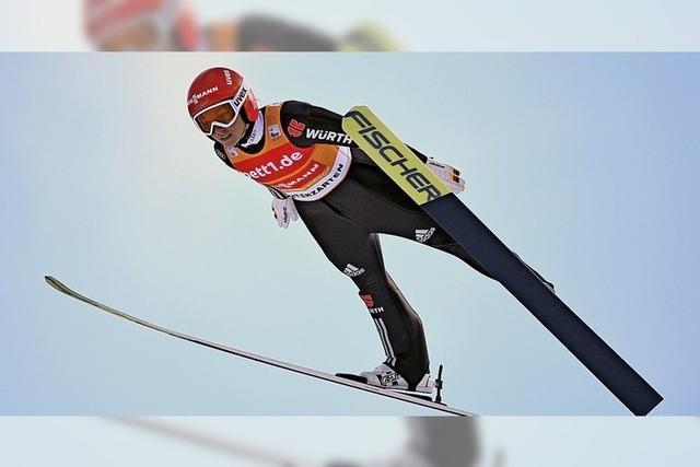 Skispringerinnen vor Corona schützen