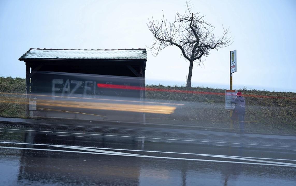 Das Busangebot für Müllheim würde schl...es Nahverkehrsplans Wirklichkeit wird.  | Foto: Sebastian Gollnow (dpa)