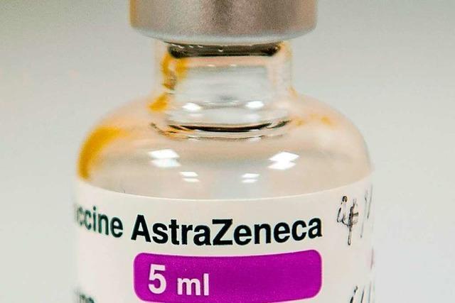 Astrazeneca -Impfstoff nur bis 64 Jahre empfohlen