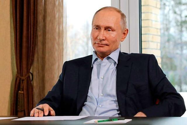 Das Duell Putin gegen Nawalny ist eine einseitige Angelegenheit