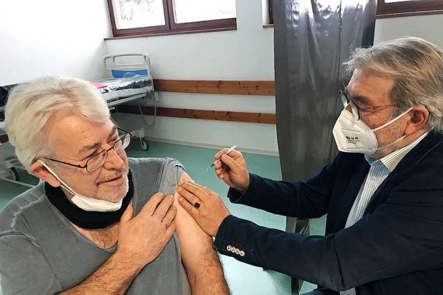 Auch in St.Blasien wird jetzt gegen Sars-CoV-2 geimpft