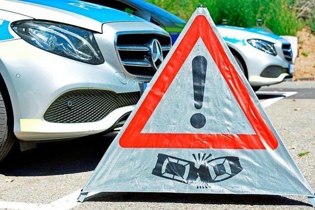 11.000 Euro Schaden bei Auffahrunfall in Lörrach