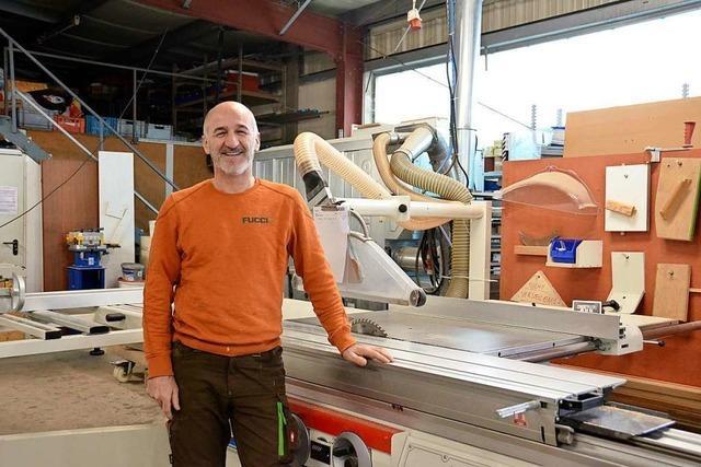 Warum Schreiner Toni Fucci aus Ebringen eine neue Werkstatt braucht