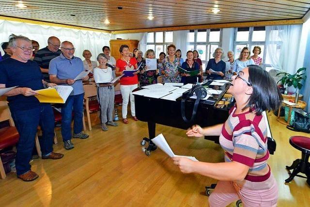 Der Deutsch-Italienische Chor singt mit viel Schwung