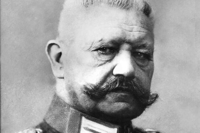 Gundelfingen kennt Hindenburg die Ehrenbürgerschaft ab
