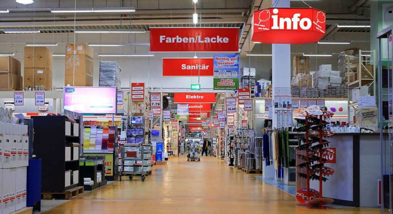 <ppp> Baumarkt, <ppp></ppp> </ppp>  | Foto: Jens Wolf
