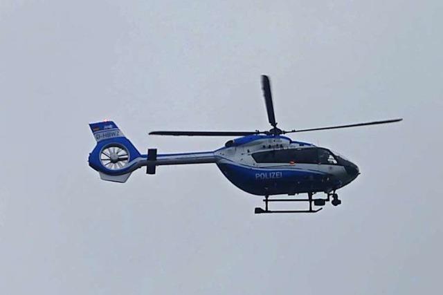 Polizei sucht nach vermisstem Rollstuhlfahrer in Rheinfelden